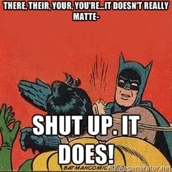 batman grammar slap